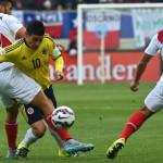 James Rodríguez: lesión lo dejaría fuera del partido ante Perú