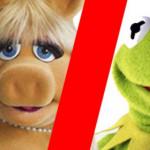 Muppets: Kermit y Piggy incómodos en entrevista post divorcio