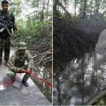 Colombia: descubren narcosubmarino en proceso de fabricación