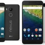 Nexus 6P y Nexus 5X: Google presenta nuevos smartphones