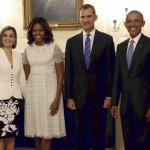 EEUU: Obama se reúne con reyes españoles en la Casa Blanca