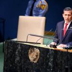 Ollanta Humala participa en Cumbre de las Naciones Unidas