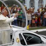 El Papa Francisco agradece la calidez de los cubanos en su visita