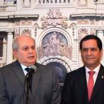 Pedro Cateriano llamará al diálogo a líderes de fuerzas políticas