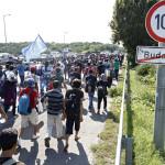 Hungría: cientos de refugiados comienzan peregrinaje hacia Austria