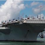 Portaaviones y destructor de Estados Unidos llegan al Callao