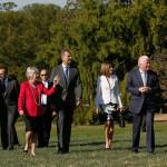 EEUU: los reyes de España homenajean a George Washington