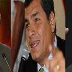"""Correa plantea reunión bilateral entre """"buenos amigos"""" Santos y Maduro"""