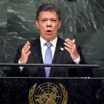 ONU: presidente Santos defiende el acuerdo de paz con las FARC