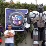 Fan Expo Perú 2015: Transformers Perú con figuras tamaño escala