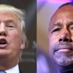 Donald Trump: Ben Carson le pisa talones con virtual empate en sondeos