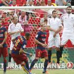 Liga española: Barcelona sin Lionel Messi pierde ante el Sevilla
