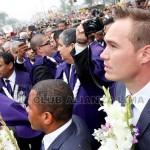 Alianza Lima rinde homenaje al Señor de los Milagros