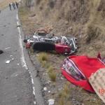 Cusco: cuatro muertos dejan choque de moto con bus