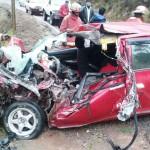 Cusco: Dos muertos y un herido en accidente de tránsito