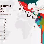 67 periodistas asesinados en América Latina desde 2014