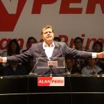 Alan García lanzó su candidatura presidencial en Magdalena