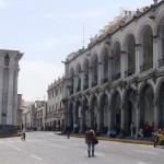 Inician peatonalización de Plaza de Armas de Arequipa