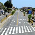 Municipalidad de Magdalena cerrará avenida Brasil los domingos