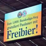 Bayern Múnich logra su victoria 1000 en la Bundesliga y regala cerveza