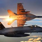 Cazas de EEUU interceptan dos aviones antibuques rusos