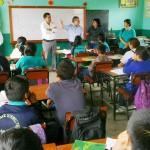 La Libertad: Supervisan obras de prevención en colegios vulnerables