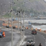 Costa Verde: cerrarán carril por construcción de paso peatonal