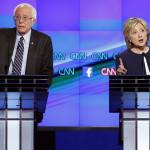 Encuesta CNN: Clinton gana debate pero no amplía ventaja sobre Sanders