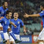 Francia 2016: Italia vence a Azerbaiyán y clasifica para la Eurocopa