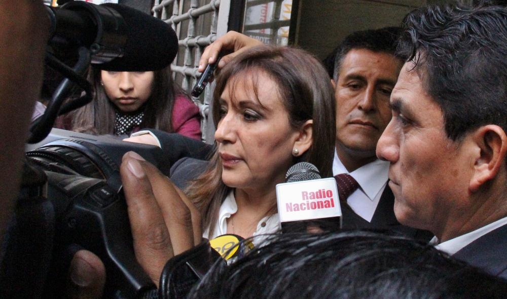 Julia Príncipe se presentará el 7 de agosto — Comisión Lava Jato
