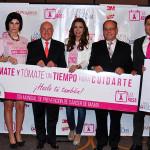 """Promueven el """"Día Rosa"""" para prevenir el cáncer de mama"""