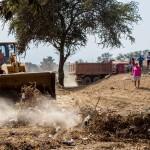 La Libertad: desalojan a invasores de zona arqueológica San José de Moro