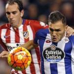 Liga española: Atlético de Madrid empata 1 a 1 ante La Coruña