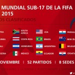 Mundial Sub 17 Chile 2015: inician partidos del anfitrión, Nigeria y Brasil