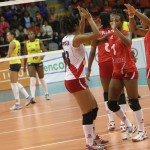 Perú potencia del vóley sudamericano pese a caer con Brasil 3-0