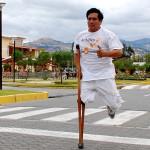 Cajamarquino discapacitado participará en maratón de Nueva York