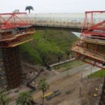 Miraflores: Puente Mellizo en última etapa de construcción