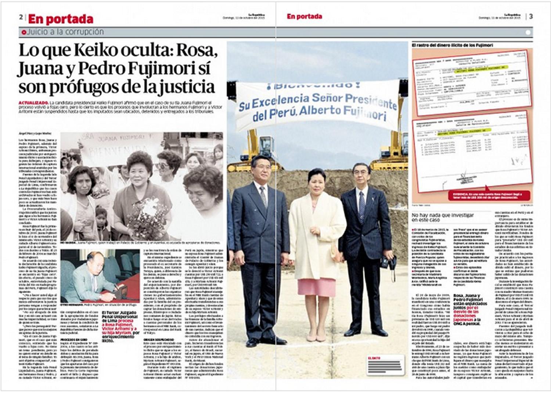 Reportaje Fujimori La República