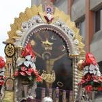 Desvíos por procesión del Señor de los Milagros