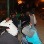 Fenómeno El Niño: Simulacro nocturno en penal de Cajamarca