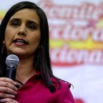 Verónika Mendoza propone reforma integral del sistema de pensiones