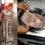Brasil: Narco intentó fugar de prisión disfrazado de abuelita (VIDEO)