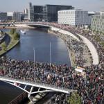 Alemania: multitudinaria marcha contra el TTIP