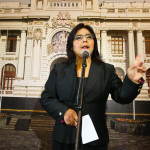 Ana Jara pide evitar censura contra ministro de Justicia