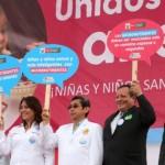 Autoridades se unen contra la anemia y desnutrición