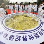 Guinness retira récord a una arrozada china por malgastar comida