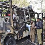 Pakistán: mueren 11 personas por atentado en un autobús