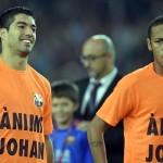 Barcelona: jugadores apoyan a Johan Cruyff que padece cáncer