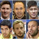 Balón de Oro 2015: Messi encabeza lista de nominados del Barcelona