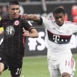 Bundesliga: Bayern Múnich empata en su visita al Fráncfort